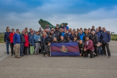 Regiment visits Normandy Beaches
